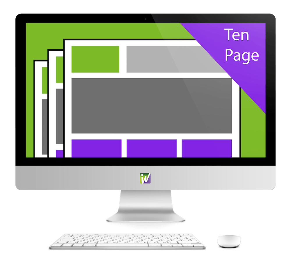 Ten Page Website